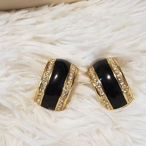 Vintage Christian Dior Clip On Earrings
